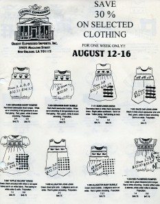 The very first OE Catalog